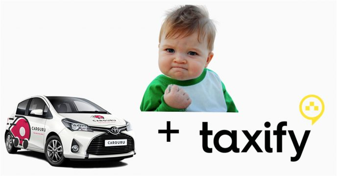 Ing A Carguru To Drive For Taxify Experiment
